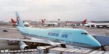 PRINT of Korean Air Boeing 747-400 and Northwest 747s