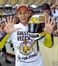 Valentino Rossie 9 Times Motogp Champion 10x8 Photo Fng