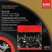 Elgar: Introduction and Allegro; Serenade; Elegy; Sospiri; Vaughan Williams: Fan