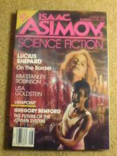 ASIMOV'S (SCI-FI) - LUCIUS SHEPARD - Aug 1987