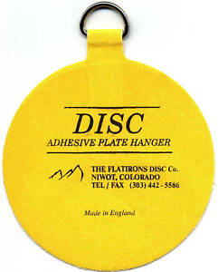 The Original Invisible Disc Adhesive Plate Hangers