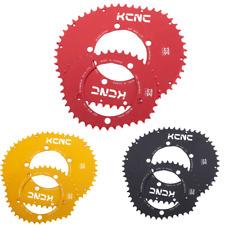 KCNC K5 Blade II Rectangular Chain ring Set 53t 39T BCD 110 MM RED BLACK GOLD