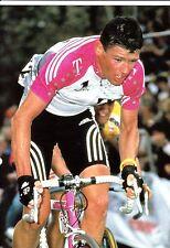 CYCLISME carte cycliste UDO BOLTS équipe TEAM DEUTSCHE TELEKOM