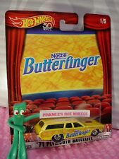 Nestle '71 PLYMOUTH SATELLITE☆yellow☆BUTTERFINGER☆2018 Hot Wheels POP CULTURE