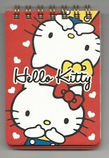 Sanrio Hello Kitty Mini Spiral Notes 2 Designs