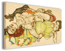 Quadro moderno Egon Schiele vol V stampa su tela canvas pittori famosi