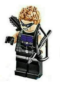 LEGO Marvel Super Heroes Hawkeye Minifigure from Lego set #76143 New.