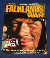THE FALKLANDS WAR NUMBER 11 - 11-12 JUNE 1982 THE NIGHT OF BATTLE