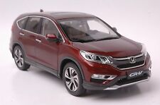 Honda CR-V 2015 SUV model in scale 1:18 amber brown