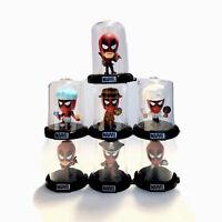 Zag Toys Domez Collectible Mini's Deadpool Collectors Lot Of 7