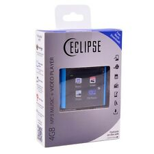 "Eclipse T180 4GB MP3 USB Touchscreen Music/Video Player w/FM & 1.8"" LCD Blue"