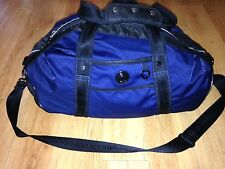 Lululemon Blue Large Overnight Weekend Run Duffle Gym Bag