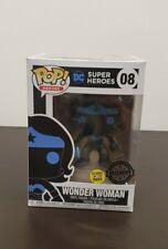 FUNKO POP Super Heroes DC Mujer Maravilla POP VINILO. brillan En La Oscuridad Exclusivo