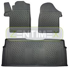Premium - 3d-tpe - Caoutchouc Tapis De Sol Pour Mercedes V-classe version intégrale pendant w447 voitures 63