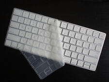 2X CLEAR TPU Super Thin Keyboard Cover Skin for APPLE Wireless Keyboard A1644