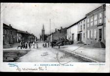 AUDUN-le-ROMAN (54) DEPOT de BOIS aux VILLAS animées en 1911