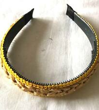 Golden Color Alice Band Headband Hair Band Ladies Girls Hair Accessories