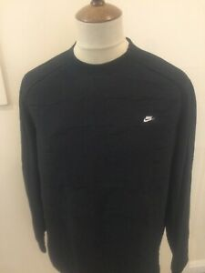NIKE CREW NECK SWEAT SHIRT HOODIE TOP SIZE XL BLACK