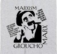 Groucho Marx Marxism T-shirt - Political, Quote, Protest, S-XXL, Various Colours