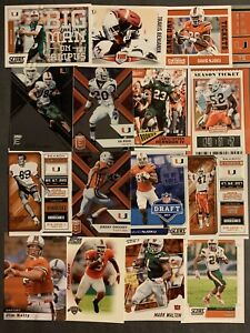 (127) Miami Hurricanes Football Card Lot! Irvin- Kelly- Olsen- Graham- Rousseau