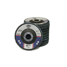 "10 Pack 4.5"" x 7/8"" Professional Zirconia Flap Disc Sanding Grinding Wheels T29"