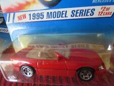 Hot Wheels Mercedes SL 1995 Models Series Red 5sp