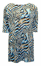 Classic Geometric Tunic, Kaftan Plus Size for Women