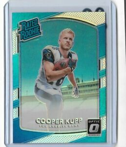 2017 Donruss optic football rated rookie holo Cooper Kupp Los Angeles Rams