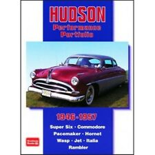 Hudson Performance PORTFOLIO 1946-1957 BOOK LIBRO