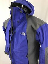 The North Face Women's Gore-Tex Waterproof Jacket Hood Blue Size M MINT