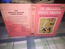 The Adventures of Jimmy Skun #18 Pink Cover Thornton Burgess Bedtime Story Books