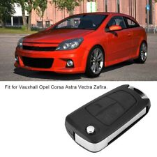 Flip 2 Button Remote Key Fob Case Shell Cover For Vauxhall Opel Corsa Astra HY