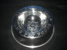 """DAD'S"" STAINLESS STEEL DOG CAT PET FOOD BOWL, HEAVY GAUGE, MINT"