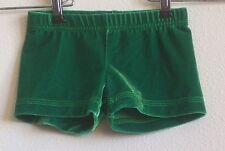 Gk Gymnastics Leotard Shorts Green Cs Child Small
