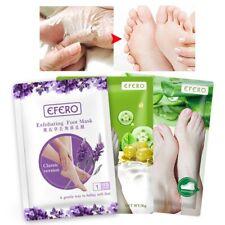 Exfoliating Foot Mask Socks Baby Soft Feet Renewal Dead Skin Callus Peel UK NEW