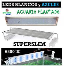 PANTALLAS LED SUPERSLIM 30cm a 150cm de 12w a 48w PARA ACUARIO PLANTADO