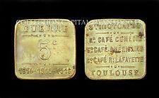Toulouse, 5 Centimes, Guerre 1914-15-16. Cafés. Laiton