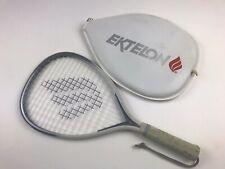 Vintage Ektelon Quazar Racquetball Racquet X-Small White-Blue Trim Case Included