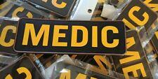 MEDIC TACTICAL 2D PVC PATCHE ( YELLOW )