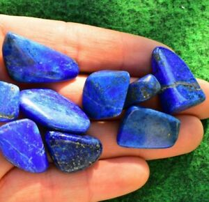 Lapis Lazuli Crystal Mineral Polished Freeform 5-10g Deep Blue Top Grade A+💎UK✔