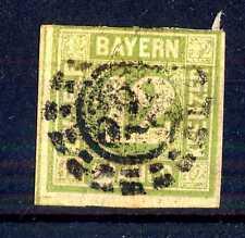 GERMAN STATES  -  BAYERN - 1862 - Grande cifra in cerchio. E5333