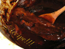 "☆Crock-Pot BBQ Ribs ""RECIPE""!☆Gr8 for Chicken too~Fall off the Bone Good!!!☆"