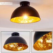 Flur Dielen Küchen Lampen Retro Decken Leuchten Wohn Schlaf Zimmer schwarz/Gold