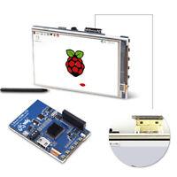 """3.5/4.0"""" HDMI LCD Pantalla Táctil Visualizador + Caja Acrílico para Raspberry Pi"""