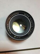 Auto Mamiya/Sekor F1.8 55mm M42 Screw Mount Lens For SLR/Mirrorless Cameras Asis