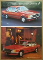 1980/1981 Holden Commodore 4-Cylinder original Australian sales brochure