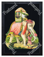 Historic Gem of the Sky Tea Elephant Advertising Postcard