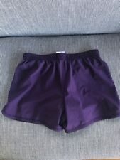 Nike Workout Athletic Tempo Running Shorts DRI FIT Purple/orange Women's Size XS