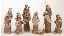 Mk Roman Inc Starter set 8 piece nativity Baby Jesus Animals Angel Wisemen 23817
