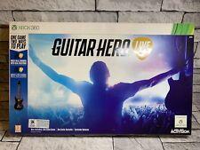 Guitar Hero Live: Guitar & game Bundle (Xbox 360) NEW & SEALED!!!